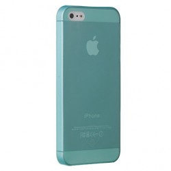 Накладка O!coat 0.3 JELLY для iPhone 5 cyan
