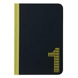 Чехол O!coat Code - 1 для iPad mini Черный/Желтый