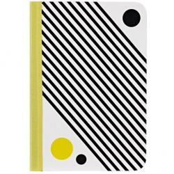 Чехол O!coat Pattern - Checker для iPad mini белый/черный