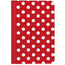 Чехол O!coat Pattern - Dotty для iPad mini красный/белый