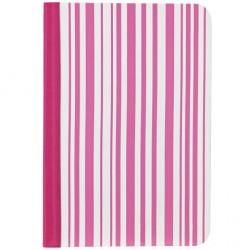 Чехол O!coat Pattern - Stripy для iPad mini розовый/белый