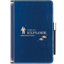 Чехол O!coat Wisdom - Astronomy blue для iPad mini голубой
