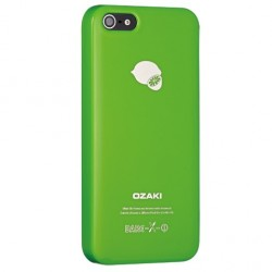 Накладка O!coat-Fruit Lemon для iPhone 5 зеленая