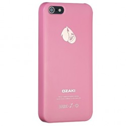 Накладка O!coat-Fruit Peach для iPhone 5 розовая